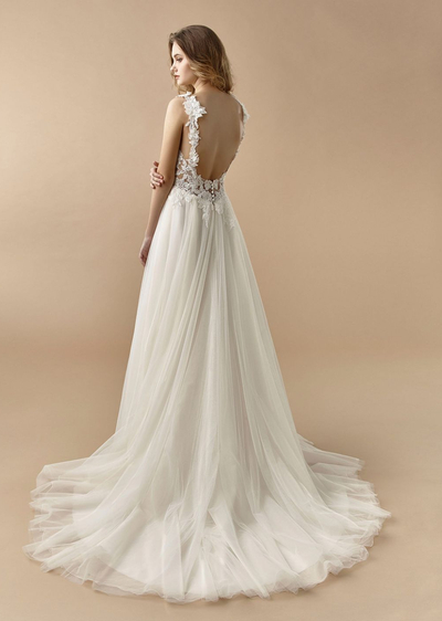 Enzoani Brautkleider aus der Kollektion 2021 - enzoani brautkleid kollektion Beautiful BT20 26 back