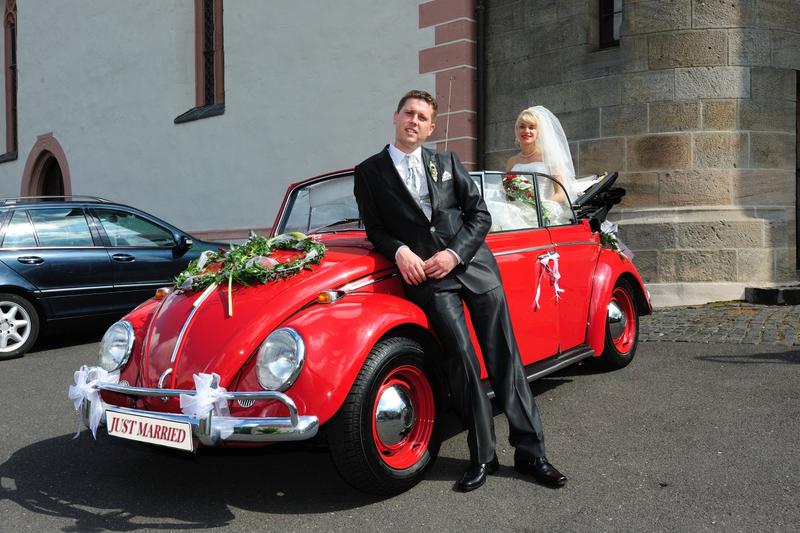 Der Kafer Als Hochzeitsauto Wir Sagen Ja