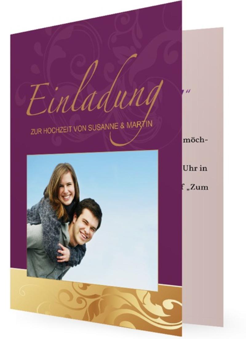 ... Einladungskarten Zur Hochzeit   Wunderschöne Und Hochwertige Einladungen  Selbst Gestalten