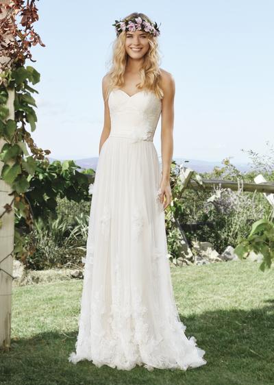 Hochzeitskleider im Boho-Style
