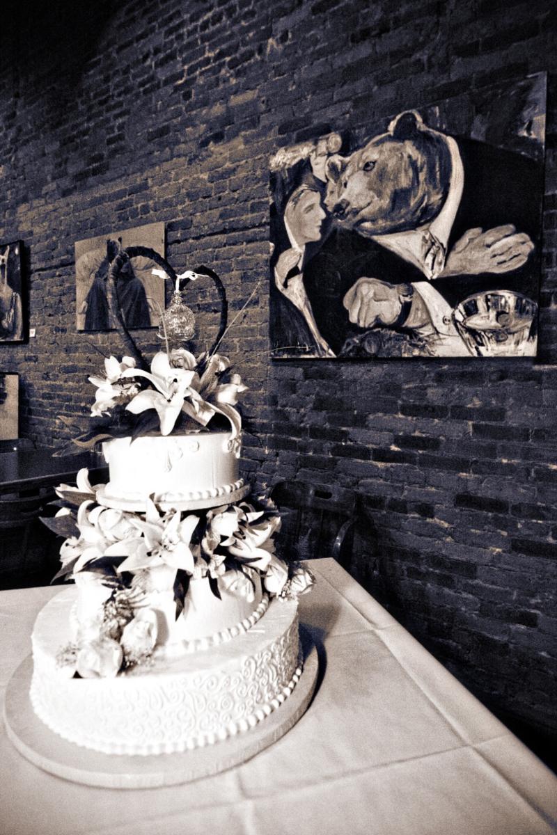 Hochzeitstorte Wir Sagen Ja