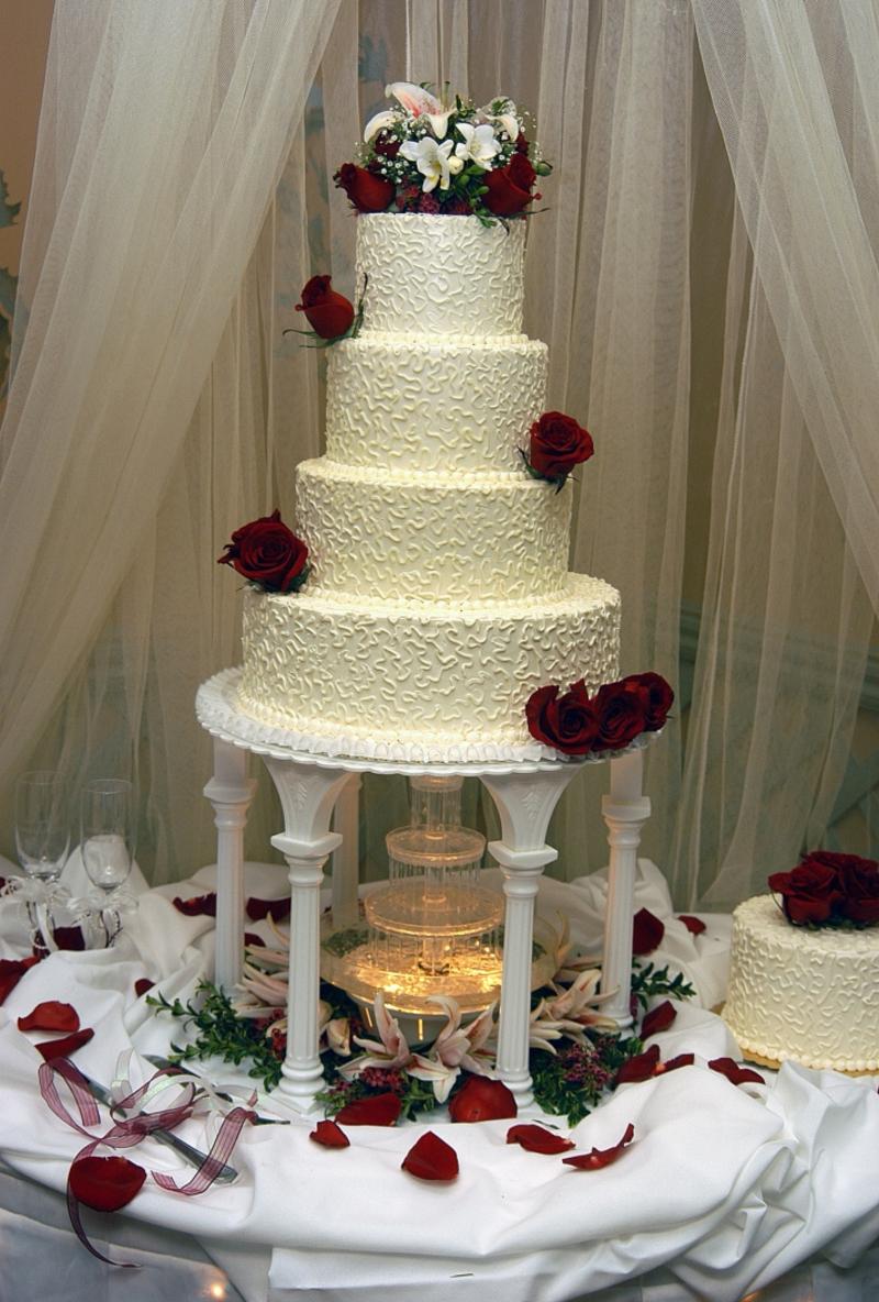 Die Hochzeitstorte Wir Sagen Ja
