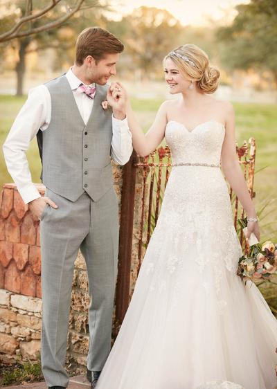 Brautkleider 2017 von Essense of Australia und Stella York - Wir ...