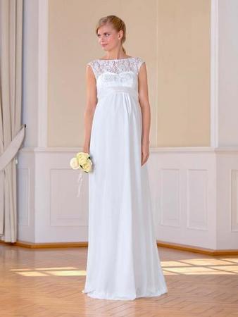 Das richtige Brautkleid in der Schwangerschaft: Hochzeit mit ...